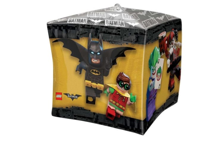 Anagram Supershape Lego Batman Balloon (Multicoloured) (One Size)