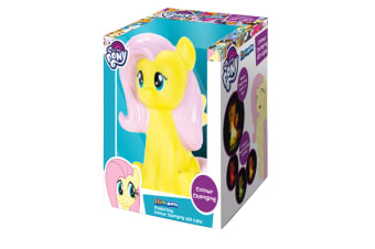 Illumi-Mates My Little Pony Official Fluttershy Bedside Lamp (Multicoloured) (One Size)