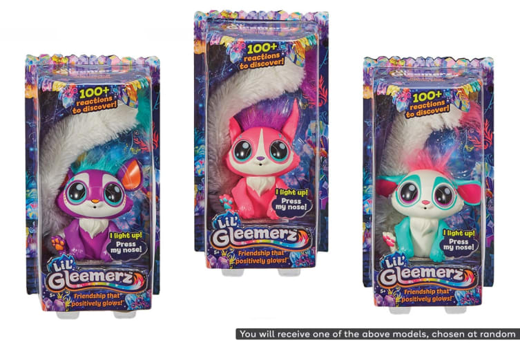 Lil' Gleemerz Interactive Pet (Assorted)