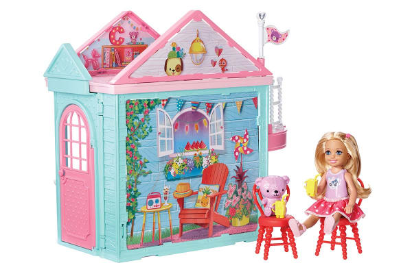 Barbie Club Chelsea Playhouse and Doll