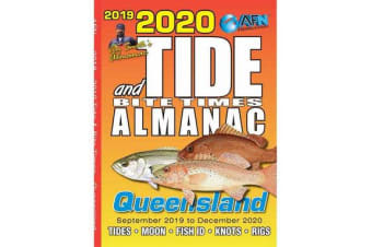2020 Tide and Bite Times Almanac QLD - Tide, Moon. Fish ID, Knots and Rigs