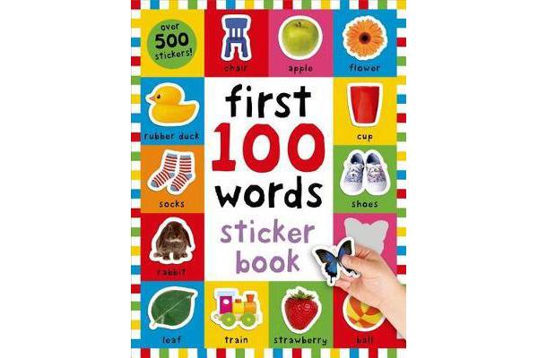 First 100 Words Sticker Book - Over 500 Stickers