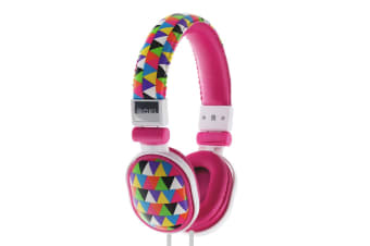 Moki Poppers Over Ear Headphones - Triangle (ACCHPPOU4)