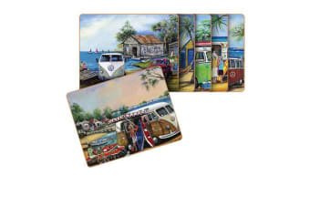 Cinnamon Kombi Placemats Set of 6