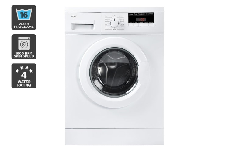 Kogan 7.5kg Front Load Washing Machine
