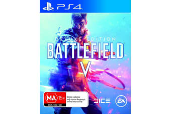 BATTLEFIELD 5 DELUXE EDITION PS4 PlayStation 4 Game - Disc Like New