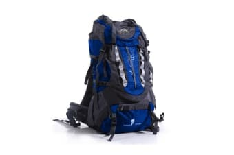 New Arrival 70L+10 Camping Hiking Backpack BLUE