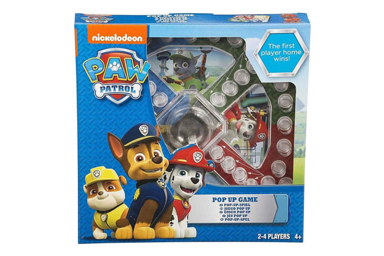 2x Paw Patrol Pop Up Board Family Activity Game Toddler/Kids/Child Age 3y+ Toys