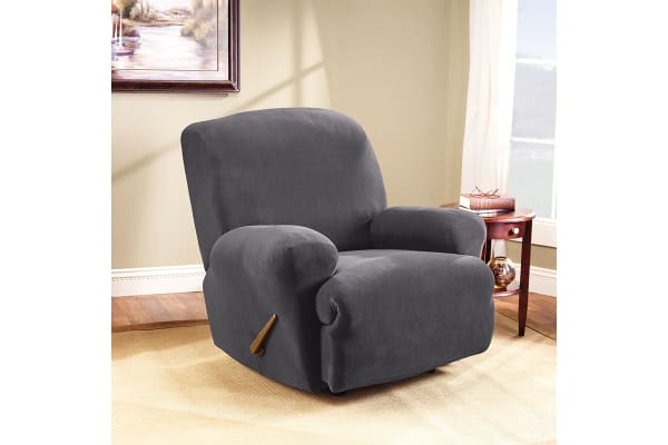 SureFit Pearson Recliner Chair Cover   Slate
