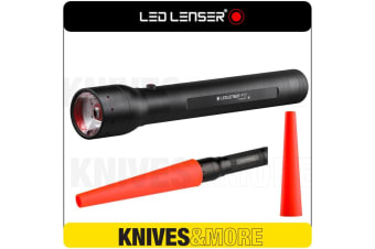 New LED LENSER P17 Flashlight 1000 Lumens Torch & Signal Cone