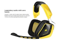 Corsair VOID Wireless Special Edition Yellow Jacket  Dolby 7.1 Surround Sound Headset (LS)