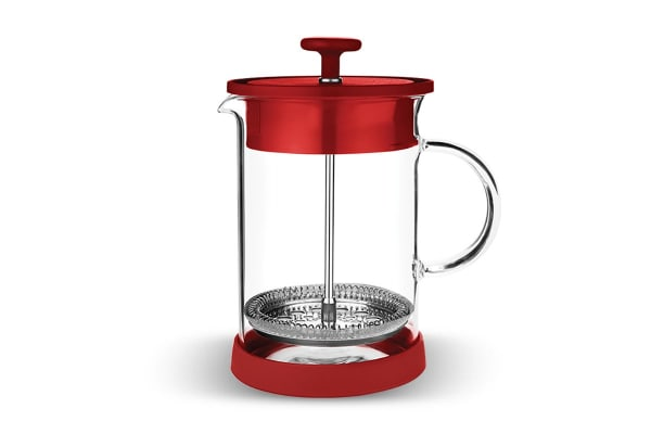 Tramontina Coffee Plunger with Silicone Base (Red)