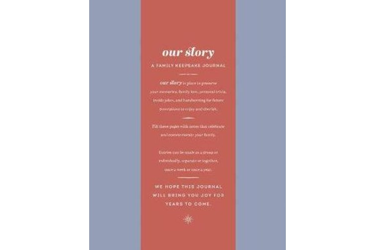 Our Story - A Family Keepsake Journal