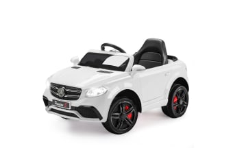 ROVO KIDS Ride-On Car MERCEDES GLC 55 Inspired Electric Battery Toy White