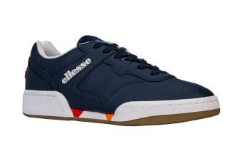 Ellesse Men's Piacentino 2.0 Leather AM Shoe (Navy, Size 12 US)