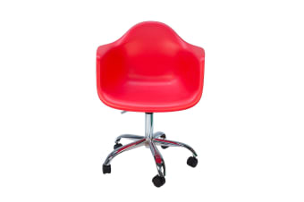 Replica Eames DAW / DAR Desk Chair | Red
