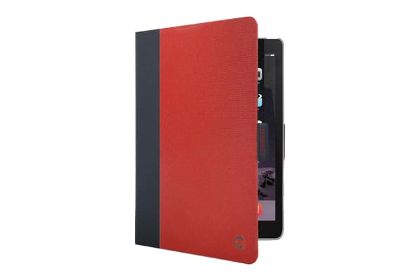 Cygnett TekView Slim case for iPad 9.7'' with Protective PC shell - Red/Grey (CY2168TEKVI)