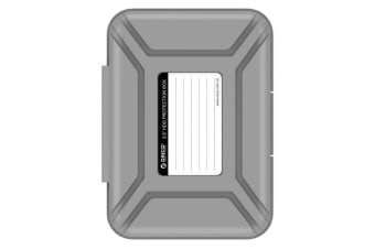 Orico 3.5in Protective Box/Storage Case for Hard Drive (HD) or SDD - Grey