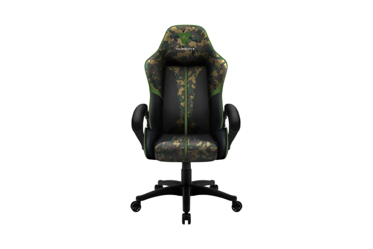 ThunderX3 BC1 CAMO Breathable Pinhole Surface Gaming/Office Chair - Green