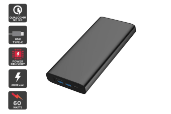 Kogan 26800 mAh Power Bank (60W) with PD and QC 3.0