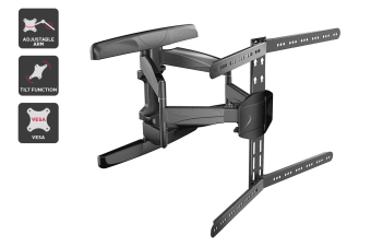 "Kogan Full Motion Wall Mount for 32"" - 75"" Curved TVs"