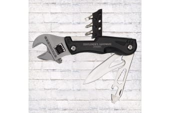 Gentlemen`s Hardware Wrench Multi Tool With Torch