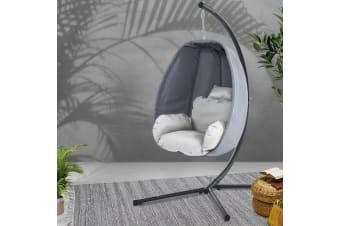 Outdoor Swing Chair Egg Hammock Hanging Pod Canopy Seat Furniture