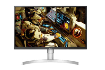 LG 27' 4K UHD 5ms IPS, SRGB 98%, 10bit Panel, Height / Pivot / Tilt Adjustable