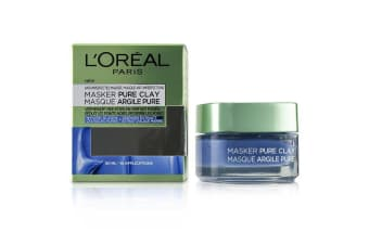 L'Oreal Pure Clay Mask - Anti-Imperfections Mask 50ml