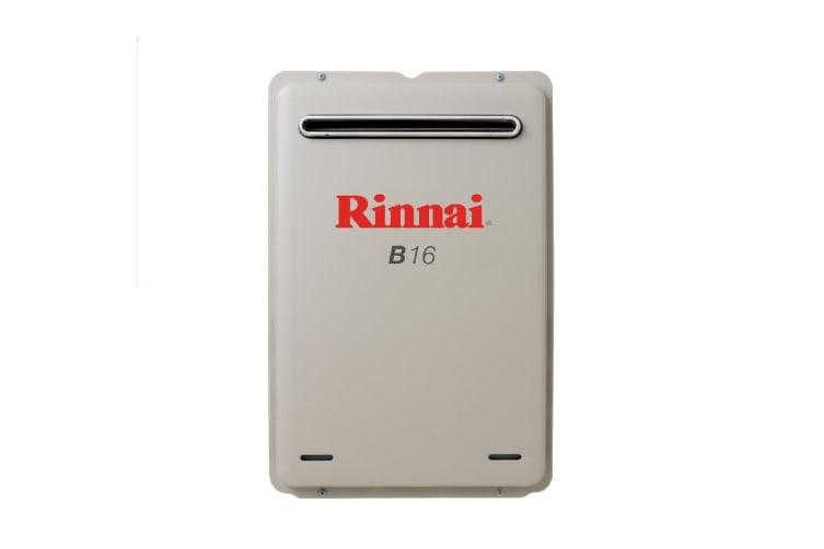 Rinnai Gas Instantaneous Hot Water System 16L Builders Model- Preset to 50 B16N50