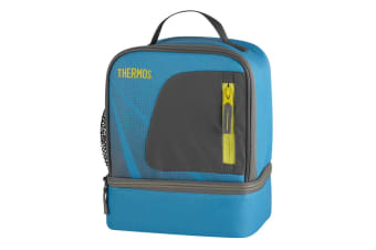 Thermos Radiance Dual Compartment Lunch Kit (Light Blue)