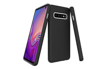 For Samsung Galaxy S10 Case  Armour Black Protective Durable Slim Phone Cover