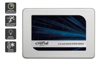 "Crucial 525GB MX300 SATA 2.5"" 7mm with 9.5mm adapter SSD (CT525MX300SSD1)"