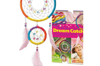 Make Your Own Glittery, Beaded Dream Catcher Kit! | 4M Creative Kit