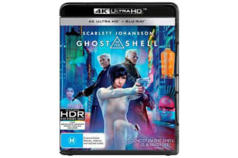 Ghost In The Shell (2017) (UHD/Blu-ray)