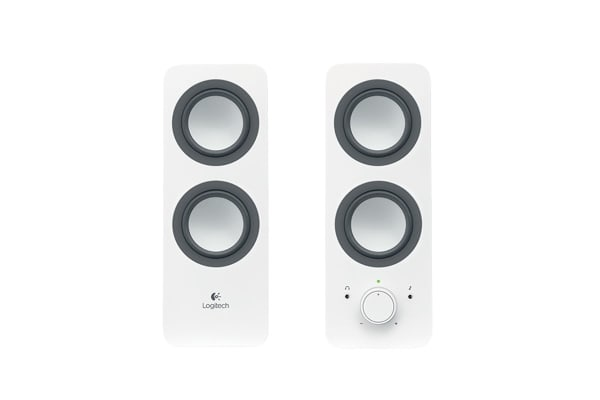 Logitech Z200 Multimedia Speakers - White (980-000851)