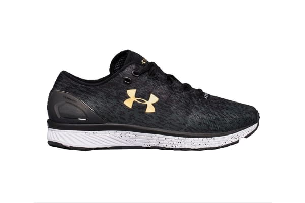 Under Armour Men's Charged Bandit 3 Ombre Shoe (Black/Anthracite, Size 11)