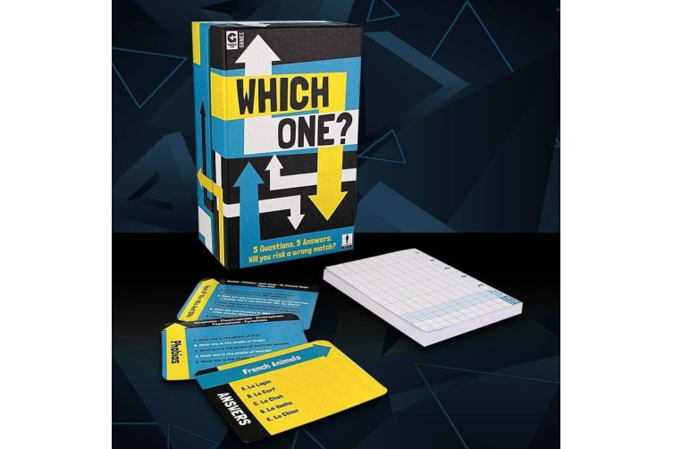 Which One? Trivia Card Game