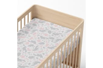 Lolli Living Cot Fitted sheet Forest Friends