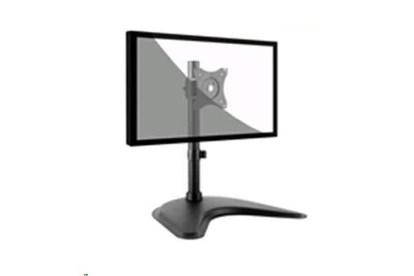 """Brateck LDT08-T01 Essential Single Monitor Desktop Stand. Fit for most 13""""-27"""" LCD monitors and"""