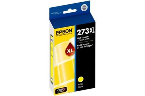 EPSON Claria 273XL Ink Cartridge - Yellow - Inkjet - High Yield - 1 Pack