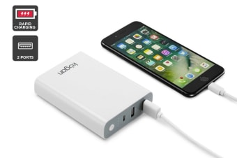 Kogan Lightweight 10400mAh Power Bank Portable Charger