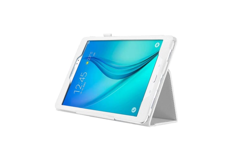 For Samsung Galaxy Tab S3 SM-T810 815 Case Lychee Protective Leather Cover White