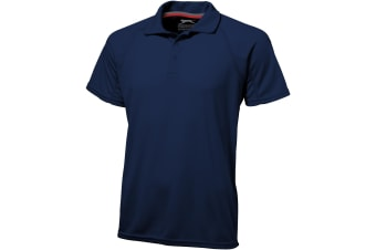 Slazenger Mens Game Short Sleeve Polo (Navy) (M)