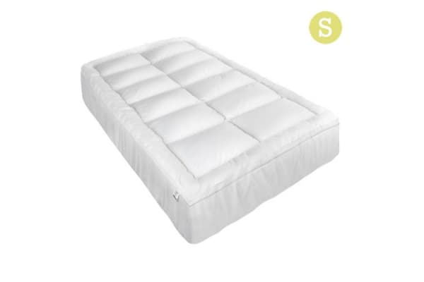 Pillowtop Mattress Topper Memory Resistant Protector Pad Cover (Single)