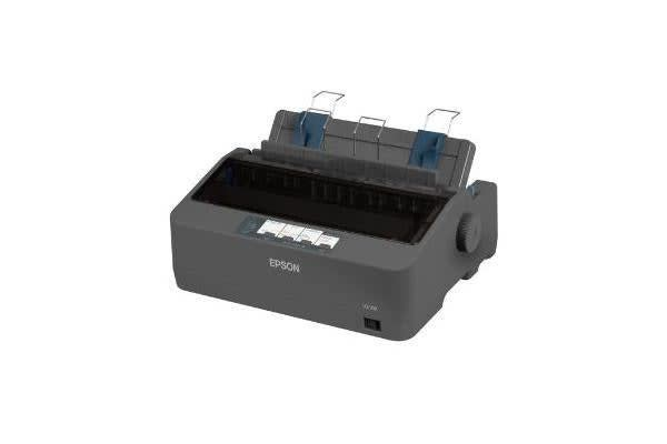 EPSON LQ-350 24-PIN DOT MATRIX PRINTER / BI-DIRECTIONAL WITH LOGIC SEEKING / PARALLEL PORT / USB / SERIAL I/F
