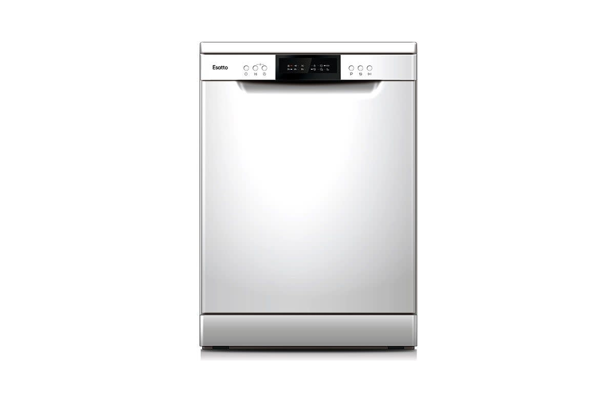 Esatto 60cm Freestanding Dishwasher - White