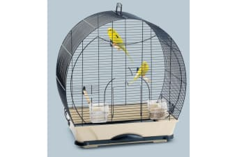 Savic Evelyne 40 Bird Cage (Navy Blue) (One Size)