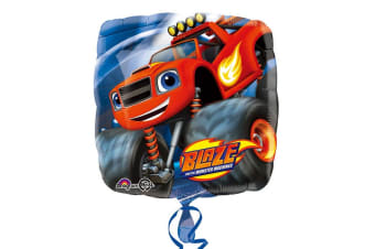 Blaze & The Monster Machines Anagram 18 Inch Square Foil Balloon (Multicoloured) (18in)