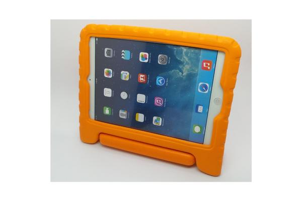 Education Soft handle iPad (2017 Model)  Case Protector For School Kids (Orange)
